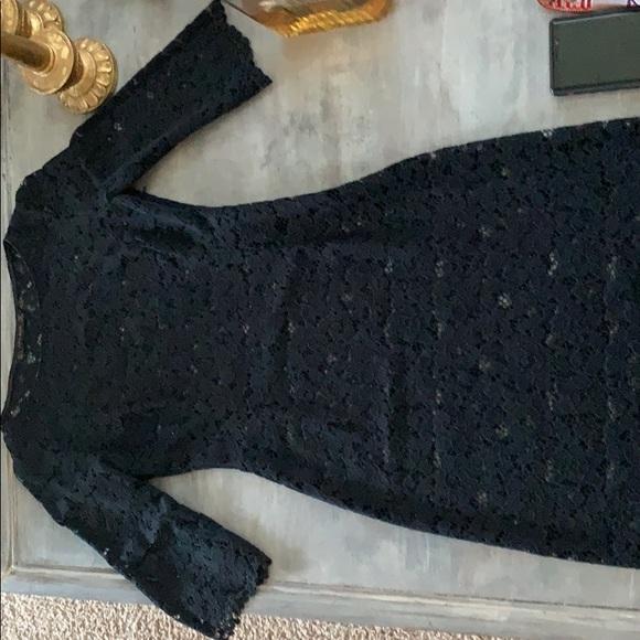 Zara Dresses & Skirts - Zara lace body con dress